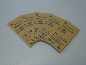 Edmondsonsche Fahrkarten